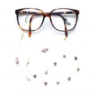 La Sensuelle Twenty Six Rose Gold Glasses chain
